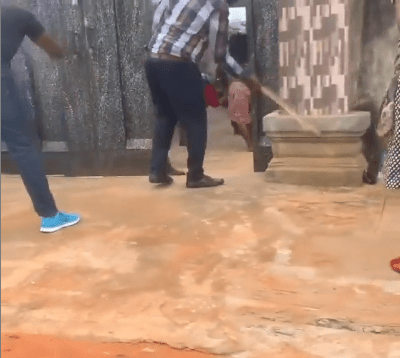 Hilarious video of Church members flogging poverty out of their lives (video)