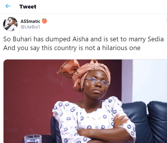 President Buhari, 'his rumoured' new wife and what Nigerians are saying on social media