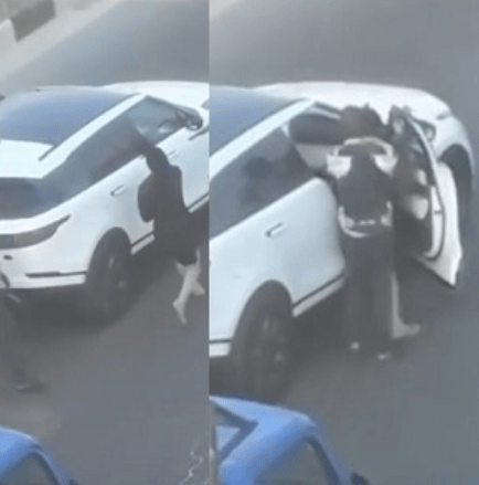 Image result for Bobrisky shares video of the man that assaulted him after bashing his car. Reveals what really happened (watch video)