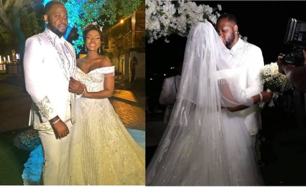 More photos and videos from BamBam and Teddy A's white wedding in Dubai lindaikejisblog