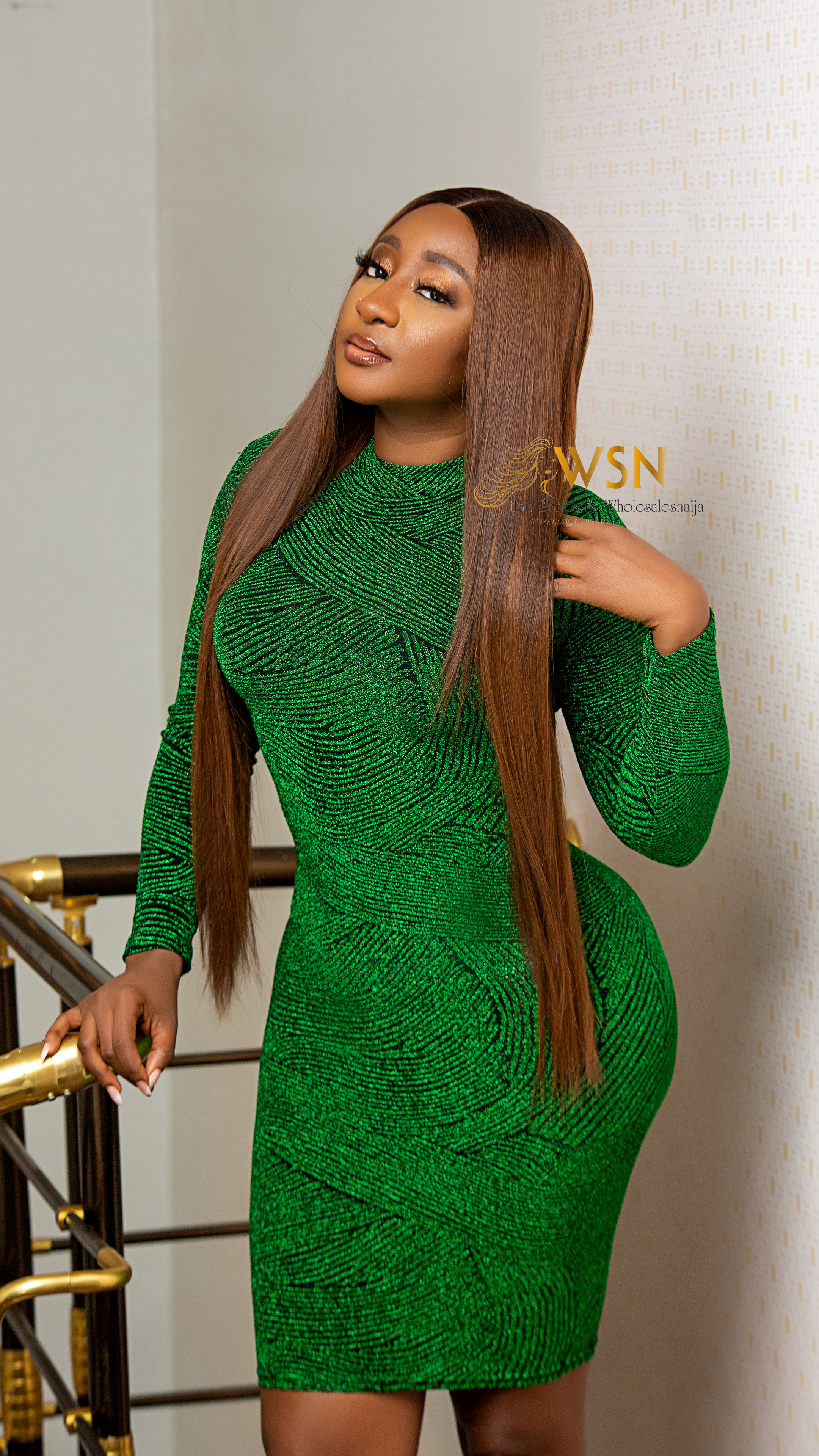 Wholesalesnaija Hair Brand Ambassadors Rocking Different Weaves and Wigs  Pieces from The Brand (photographs)