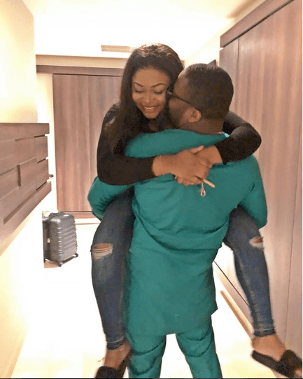 'Thanks for the love you give' - Actress Ruth Kadiri celebrates Valentine's Day with her husband