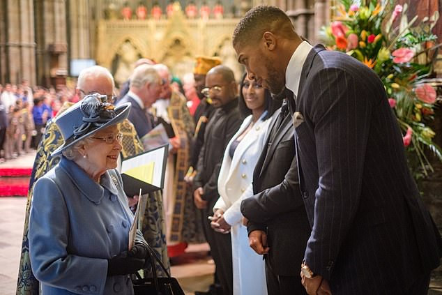 'My heritage is Nigeria, I'm proudly Nigerian' - Anthony Joshua boast as he addresses the Royal Family at Commonwealth Day service (Video) » AsorockOnline  ENTERTAINMENT
