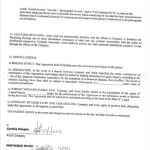 Signed contract between Cynthia Morgan and Jude Okoye's Northside Entertainment finally revealed (Photos)
