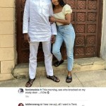 """She has a boyfriend o!"" - Femi Otedola reply follower who indicated interest in dating his daughter, Temi Otedola"