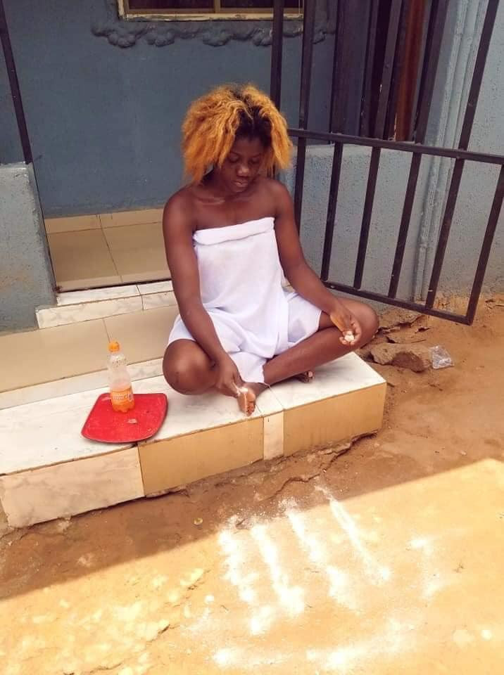 I'm a river goddess and the Antichrist - Nigerian traditionalist says she gives out her Bible lindaikejisblog 1