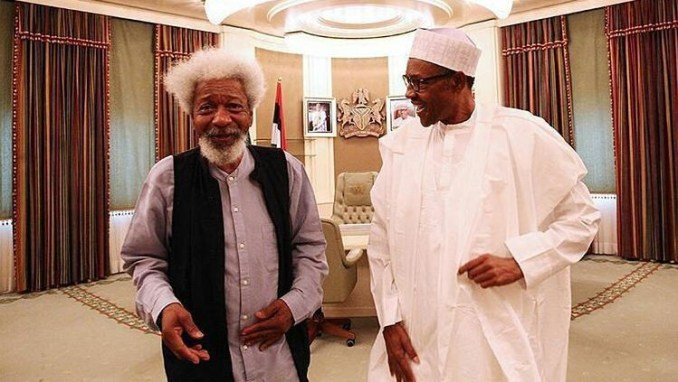 There are so many people who should be in prison if Buhari's government had not run out of steam, the system is being manipulated - Soyinka