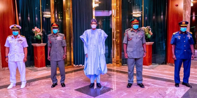 Buhari writes National Assembly for confirmation of Service Chiefs