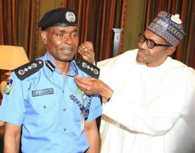 Buhari orders IGP Adamu to hand over