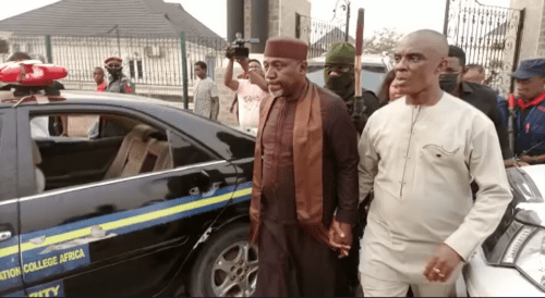 Okorocha was invited to explain why he led the violent breaking into an estate sealed by Imo government that led to damages - Imo Police