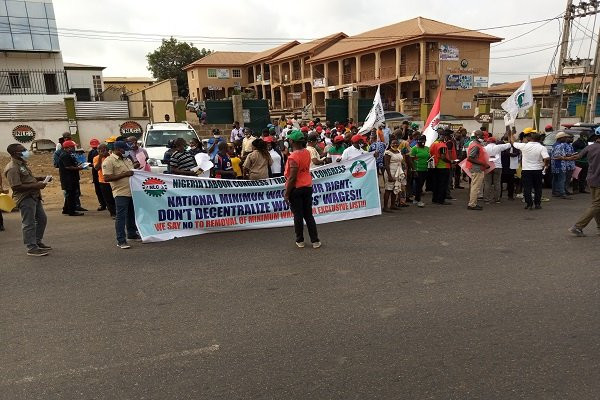 NLC members embark on nationwide protest 9