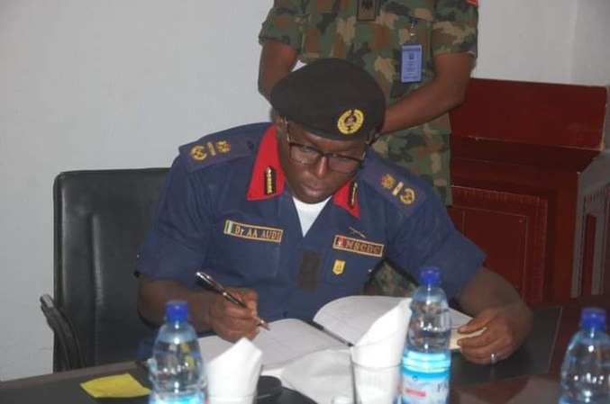 Bandits in Nigeria have international sponsors - NSCDC's Commandant General, Ahmed Audi