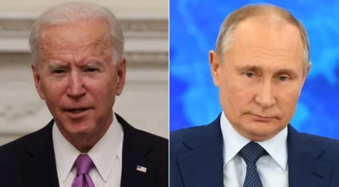 I believe Putin is a killer, he'll pay a price - Joe Biden says