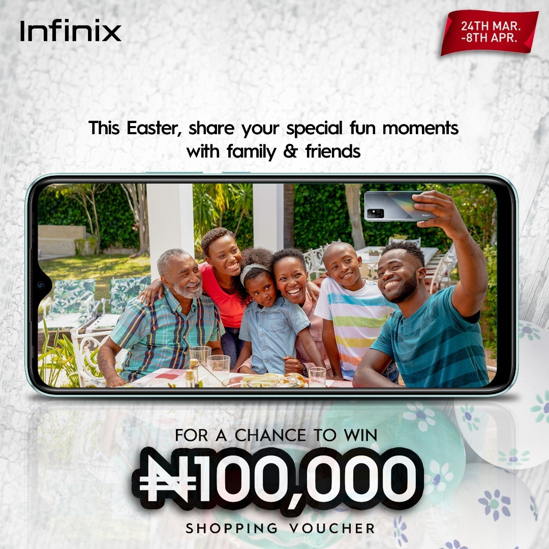 Share Special Moments and Get the Best Deals this Easter with Infinix lindaikejisblog1
