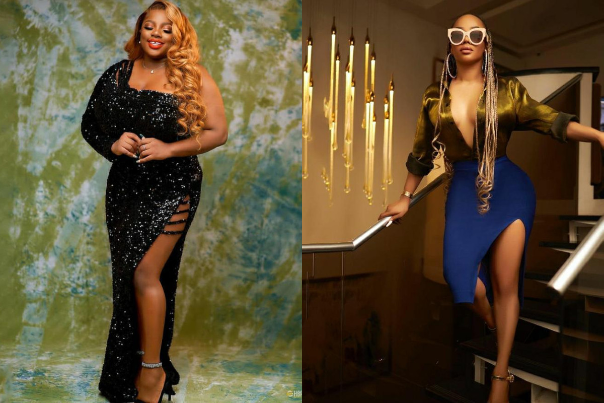 I havent seen boobs this huge in my entire life - Toke Makinwa gushes over #BBNaijas Dorathy Bachors boobs