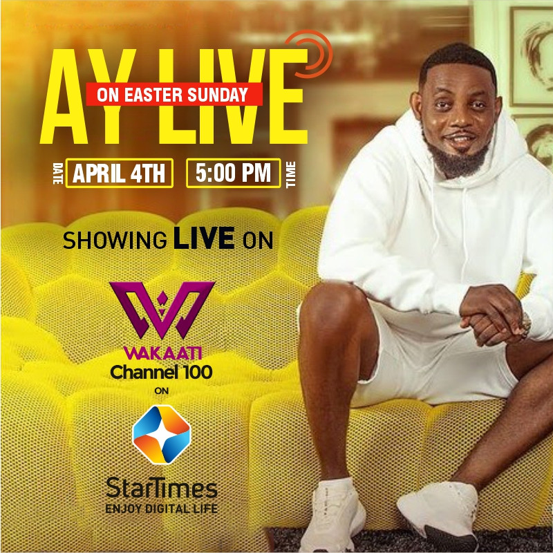 Watch AY LIVE on StarTimes for Just N90 This Easter Sunday