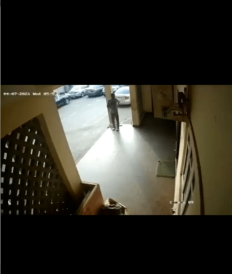 Dismissed police corporal arrested after being seen in CCTV footage  stealing a phone which was being charged around the Police IRT Commanders office