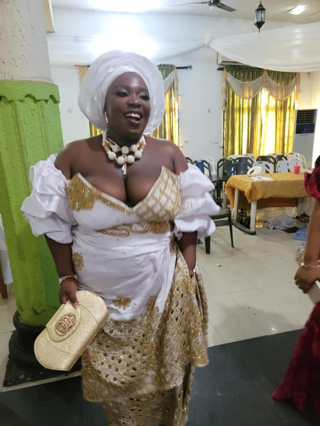 No bride price was paid and I did not kneel down to give him a drink - Facebook feminist, Nkechi Bianze says as she shares photos from her wedding 3