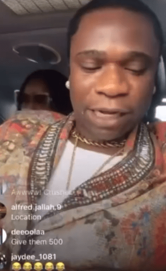 Speed Darlington arrested by police for having a crusher in his car while on his way to the airport