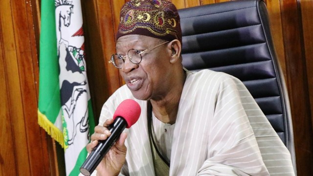 Those criticizing Buhari for seeking medical treatment abroad out to de-market him - Lai Mohammed