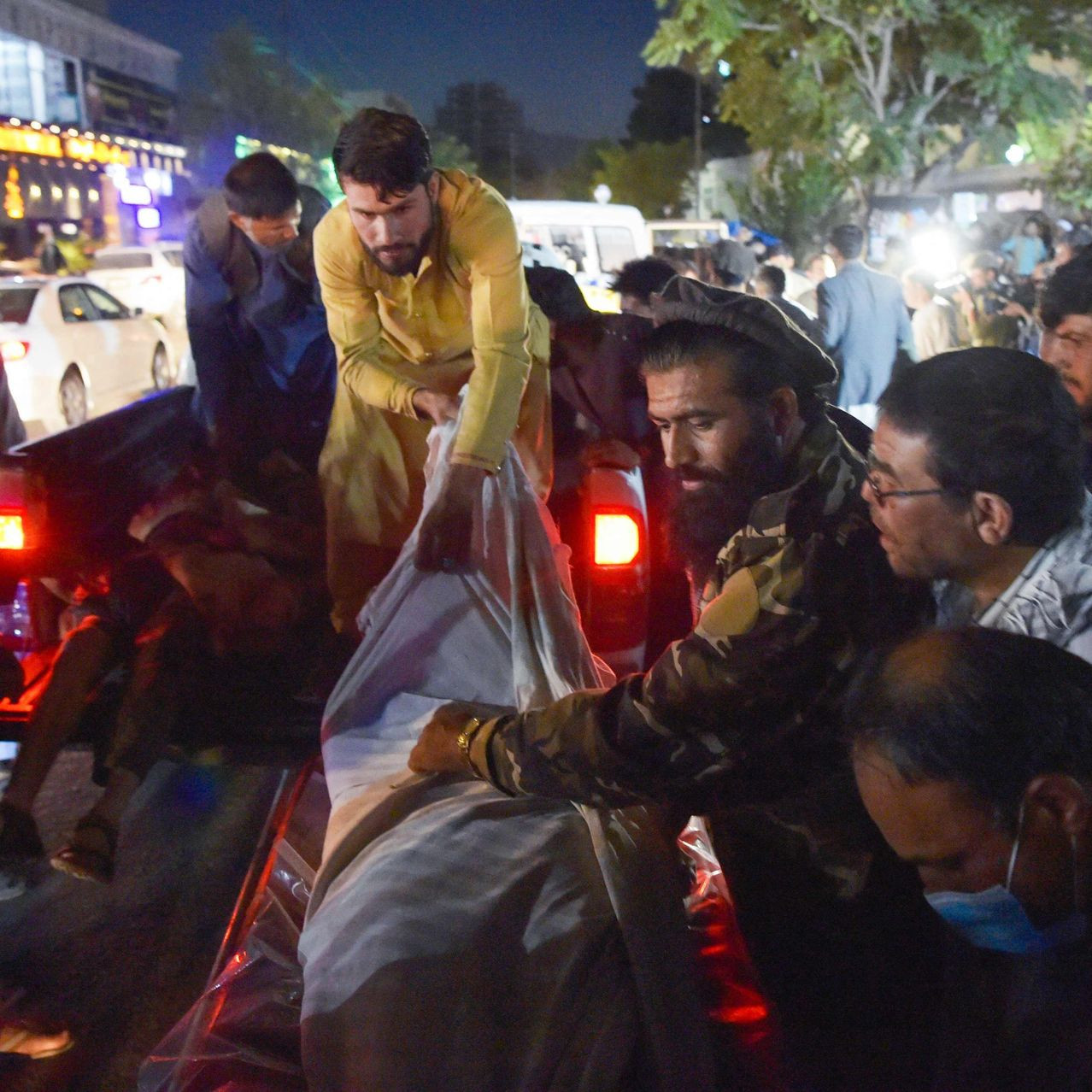 Update: Third explosion occurs in Kabul with at least 60 killed including 12 US marines