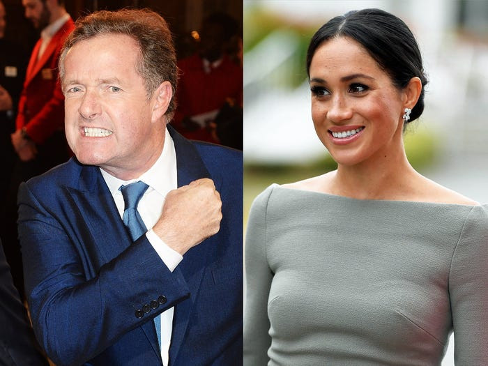 Piers Morgan rejoices after being cleared by UK media regulator over comments about Meghan Markle