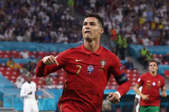 Cristiano Ronaldo breaks Ali Daei's international scoring record after scoring his with 110th and 111th goals for Portugal