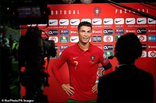 'I'm not closing the count just yet!': Cristiano Ronaldo speaks out after breaking Ali Daei's international scoring record
