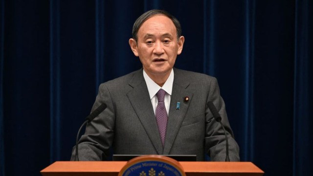 Japan's Prime Minister Yoshihide Suga steps down after just a year in office amid anger over COVID response