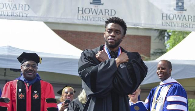Howard University officially renames college after late alumnus Chadwick Boseman 1