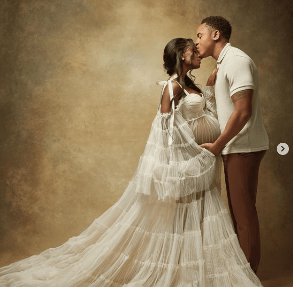 Rotimi and Vanessa Mdee are expecting their first child, share pregnancy photos 3