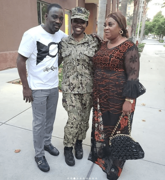 Pasuma visits daughter who is a Naval officer in US Navy at her base in California 2