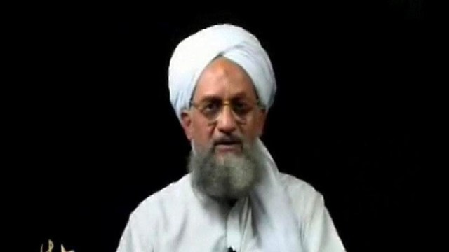 Al-Qaeda chief appears in video praising his group on 9 11 anniversary, despite claims of him being dead