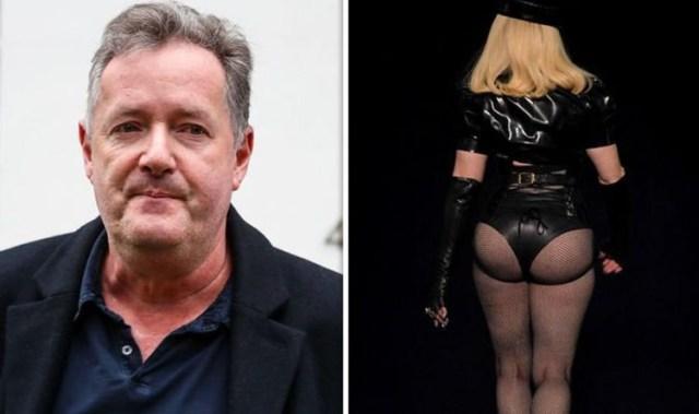 Piers Morgan trolls Madonna over dominatrix outfit at the VMAs