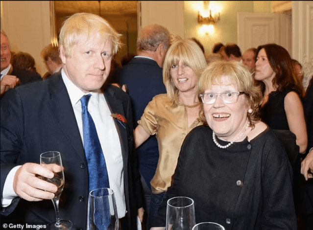 UK prime minister Boris Johnsons mother Charlotte Johnson dies 'suddenly and peacefully' at 79