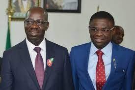 I remain loyal to my Governor - Edo Deputy Governor Philip Shaibu denies rift with Obaseki