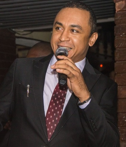 Whitemoney has exposed an age old fallacy in belief that the way a woman dresses could incite a man to rape her - Daddy Freeze reacts to Whitemoney looking away as Angel deliberately flashed her vagina