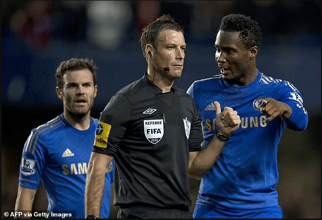 'The day Chelsea accused me of racially abusing Mikel Obi almost ruined my life' - Former Premier League referee, Mark Clattenburg writes in his autobiography