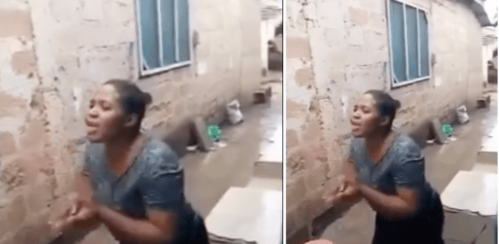 You've been sleeping with me for 10 years I won't leave - Woman tells husband after he sent her packing