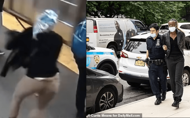 Nigerian woman charged with attempted murder 'after shoving innocent female commuter intooncomingNYCsubway train (Photos/Video)