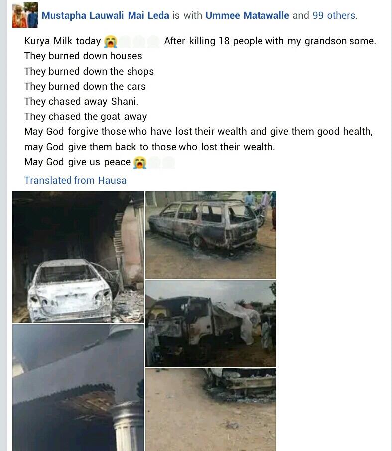 Bandits kill 18, raze houses, vehicles in Zamfara community