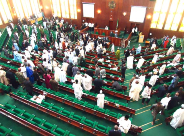 House of Rep members pass 2022 budget for second reading