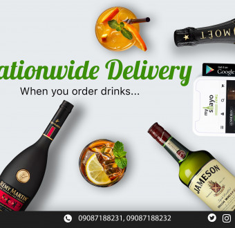 Order authentic drinks on MyShayo.com at wholesale prices for Instant delivery anywhere in 9ja!