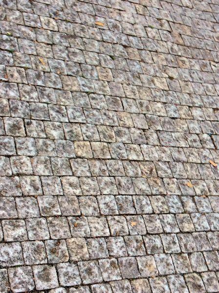 Prague cobblestones