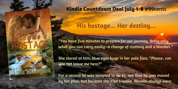 Rogue's Hostage Kindle Countdown Deal July 1-8, 2021
