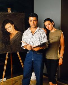Con Ana Belén