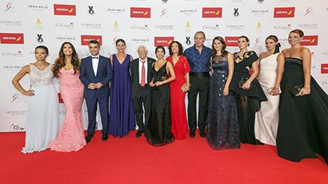 Parte del reportaje realizado en el pase de fotocall de la Gala 2015 de la Global Gift Foundation de Eva Longoria celebrada en Meliá Don Pepe de Marbella. Mas info: pablosouviron.com