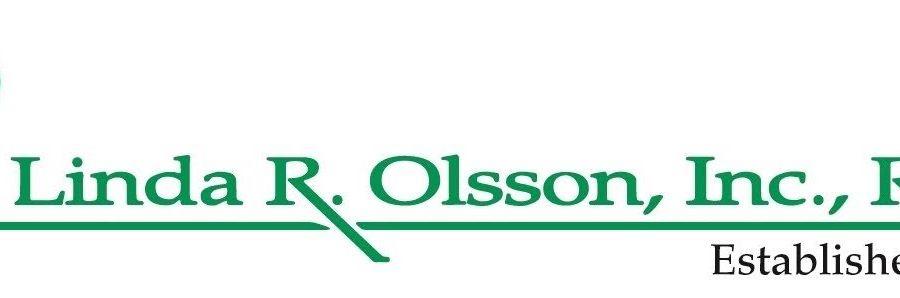 LINDA R. OLSSON, INC., REALTOR Logo