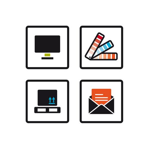 ontwerp design icoontjes