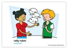 Dagritmekaart bovenbouw rally robin